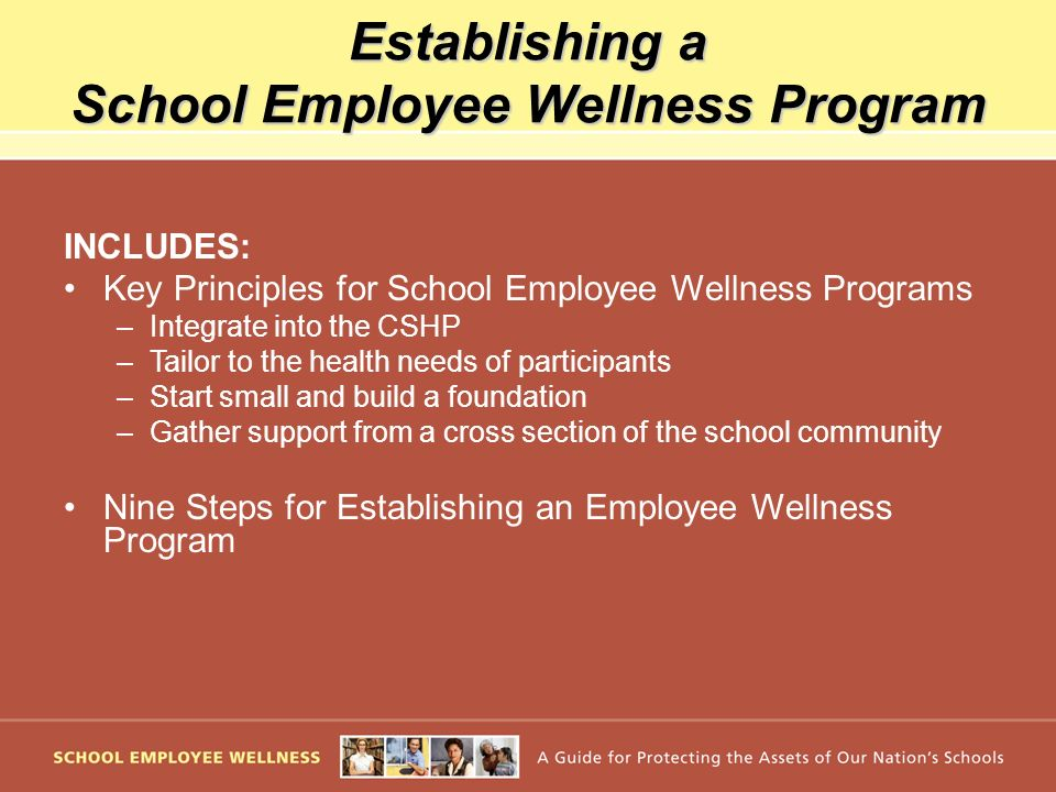 Establishing a School Employee Wellness Program