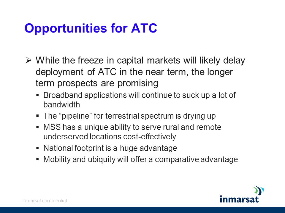 Opportunities for ATC