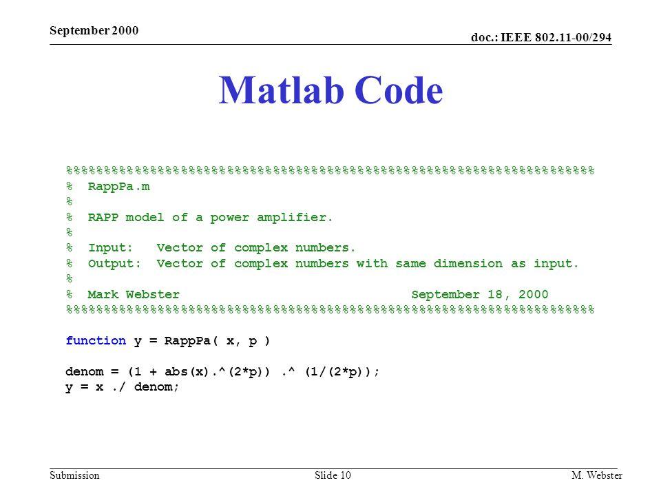 September 2000 Matlab Code. %%%%%%%%%%%%%%%%%%%%%%%%%%%%%%%%%%%%%%%%%%%%%%%%%%%%%%%%%%%%%%%%%%%%% % RappPa.m.