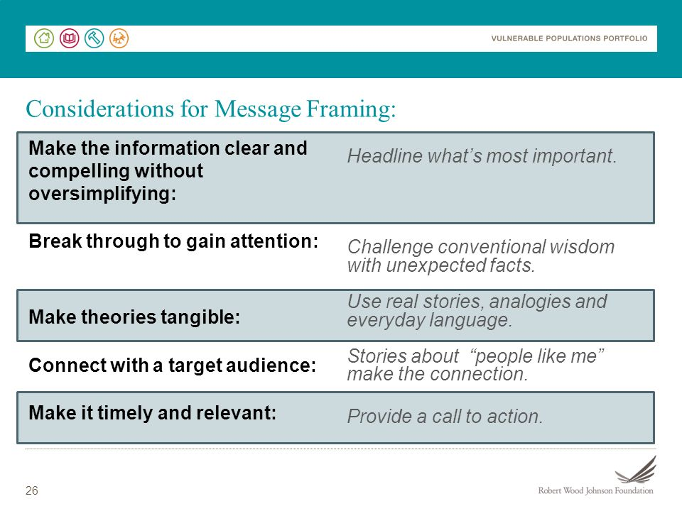 Considerations for Message Framing: