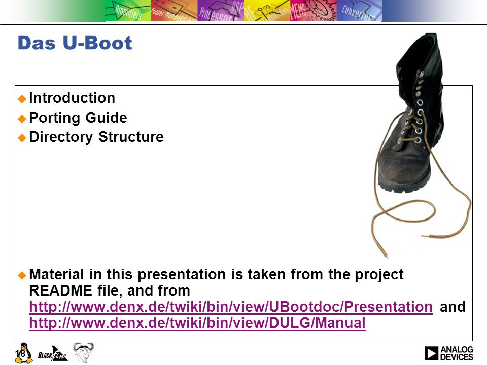 Das U-Boot Introduction Porting Guide Directory Structure