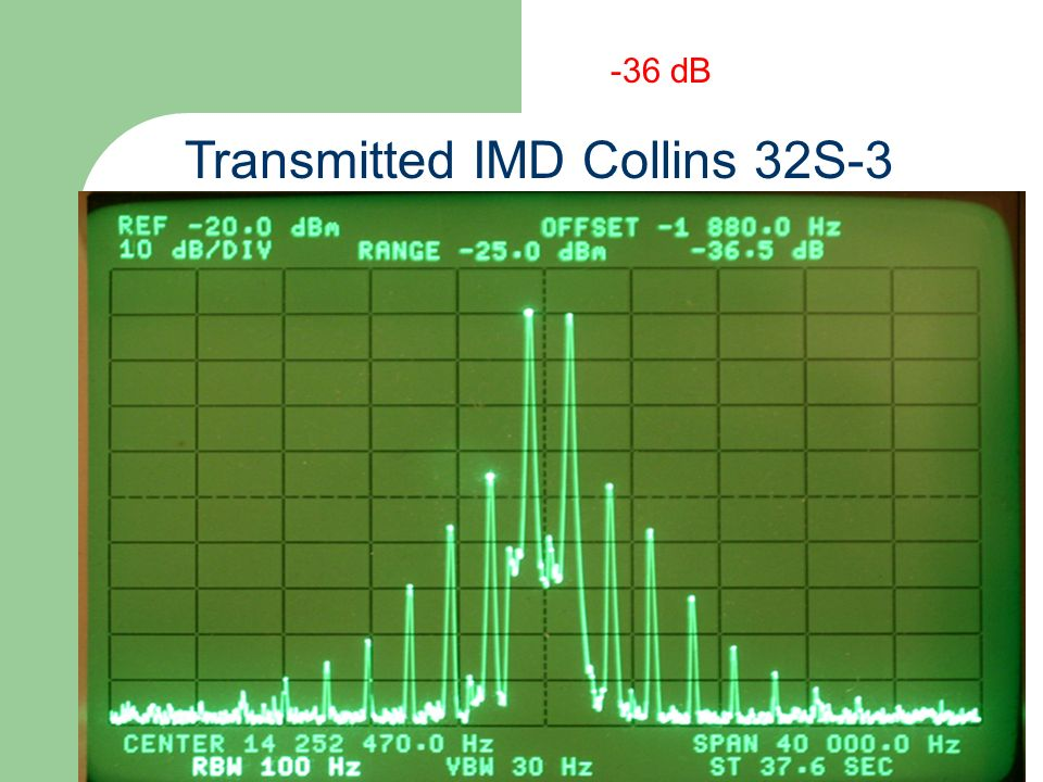 Transmitted IMD Collins 32S-3