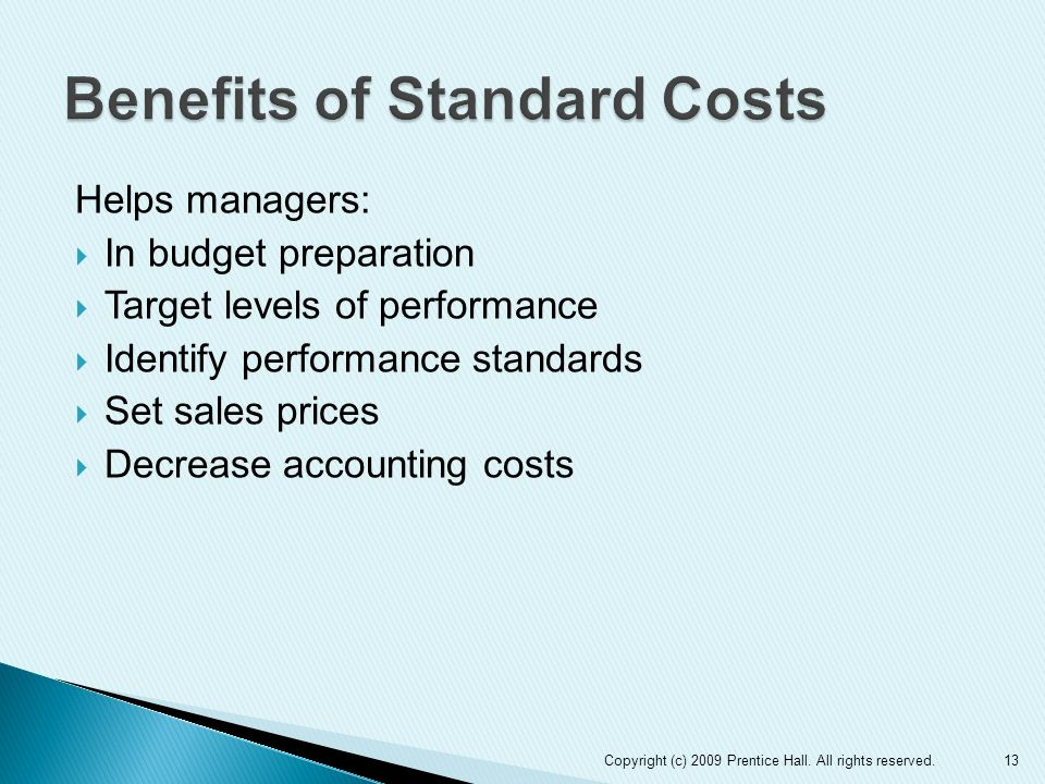 Essay on Standard Cost and Standard Costing | Cost Accounting