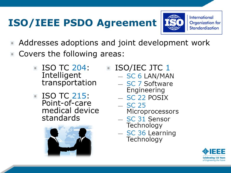 ISO/IEEE PSDO Agreement