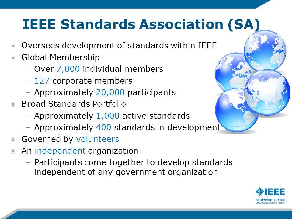 IEEE Standards Association (SA)
