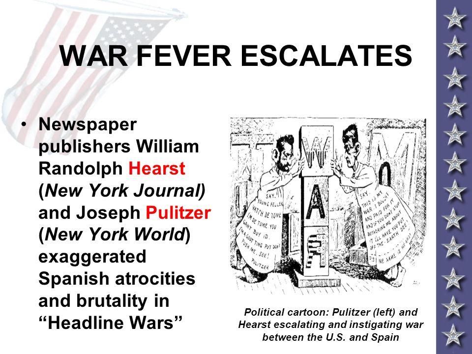 WAR FEVER ESCALATES