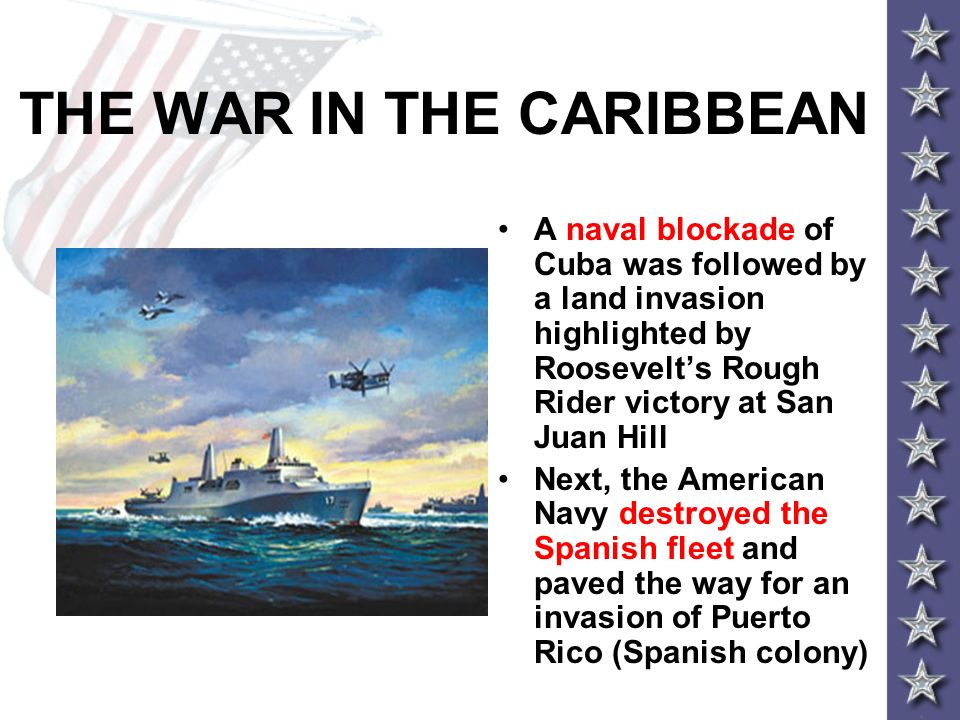 THE WAR IN THE CARIBBEAN