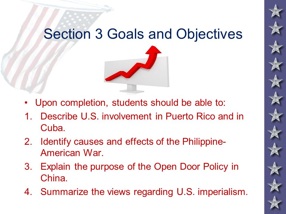 Section 3 Goals and Objectives