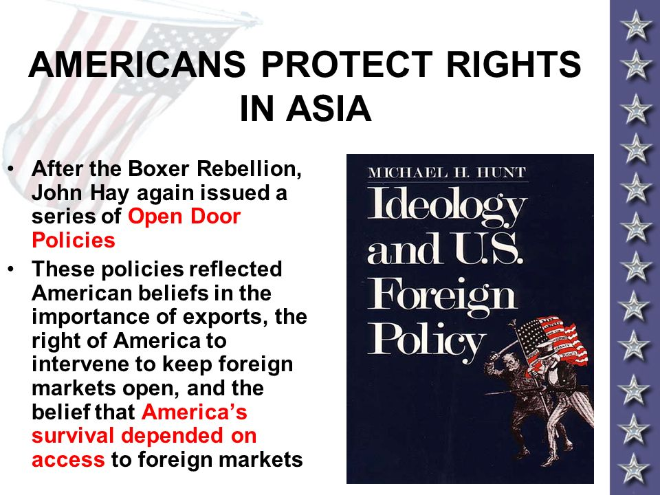 AMERICANS PROTECT RIGHTS IN ASIA