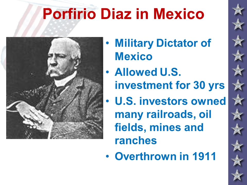 Porfirio Diaz in Mexico