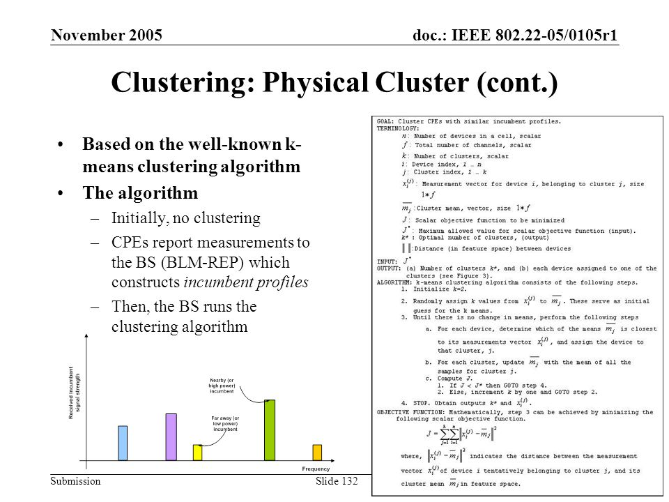 Clustering: Physical Cluster (cont.)