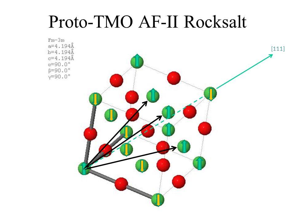 Proto-TMO AF-II Rocksalt