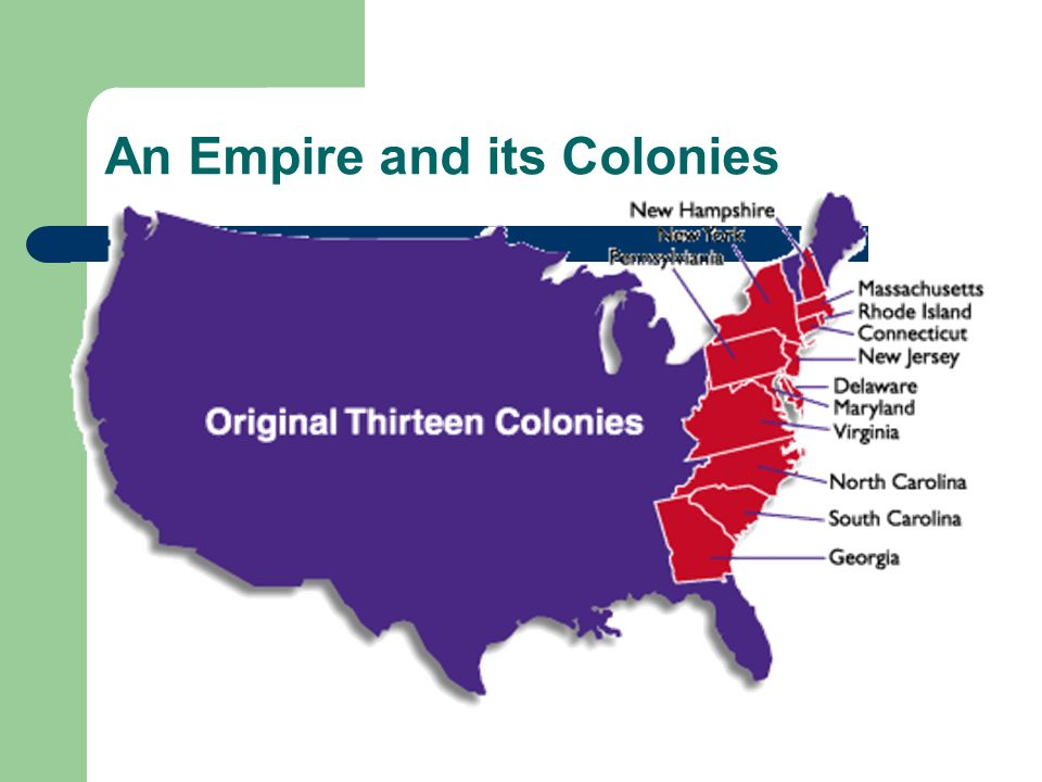 An Empire and its Colonies