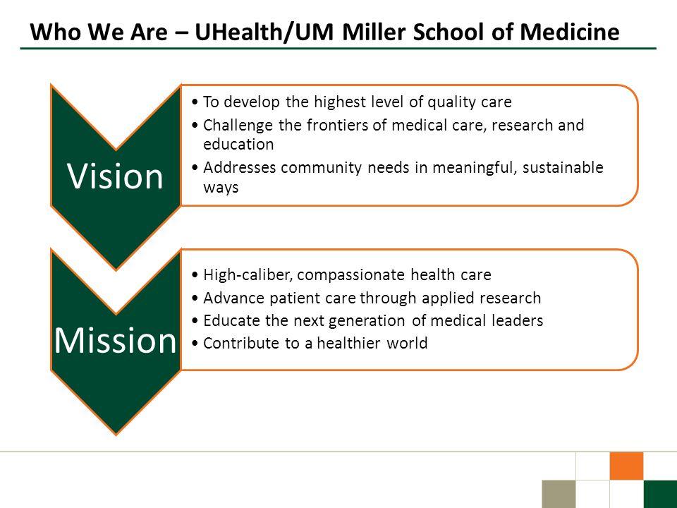 Who We Are – UHealth/UM Miller School of Medicine