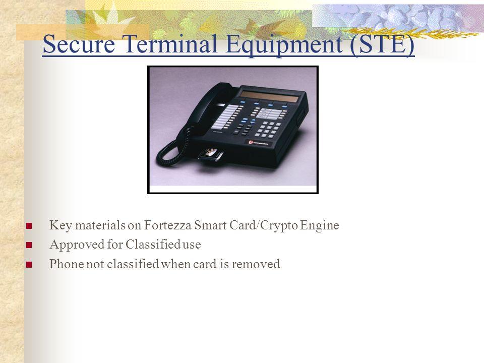 Secure Terminal Equipment (STE)
