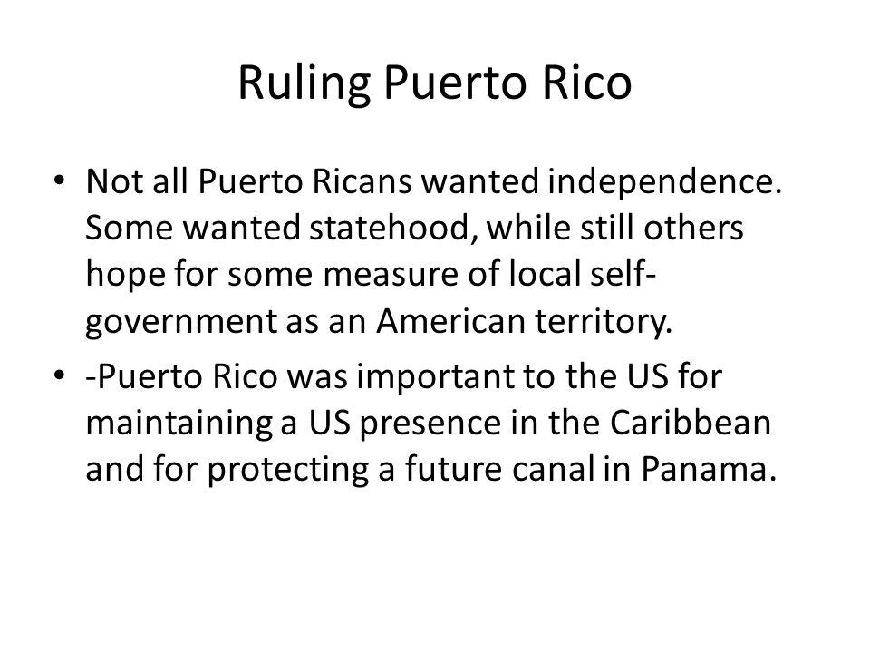 Ruling Puerto Rico