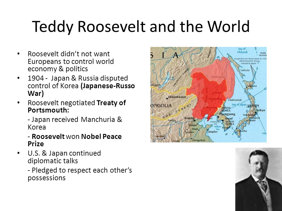 Teddy Roosevelt and the World