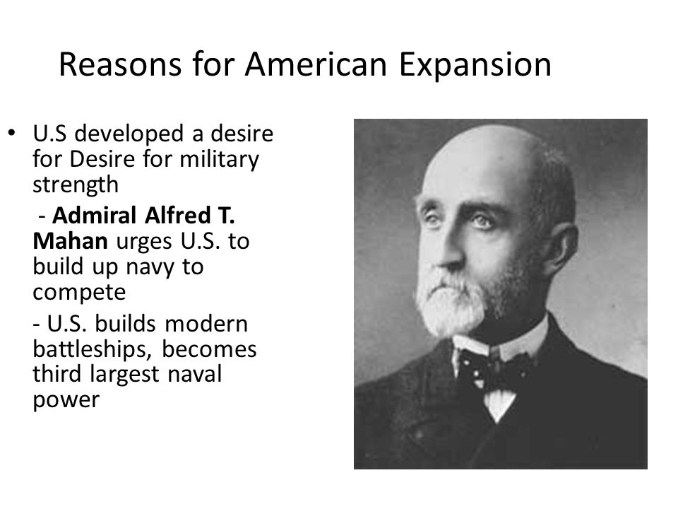 Reasons for American Expansion