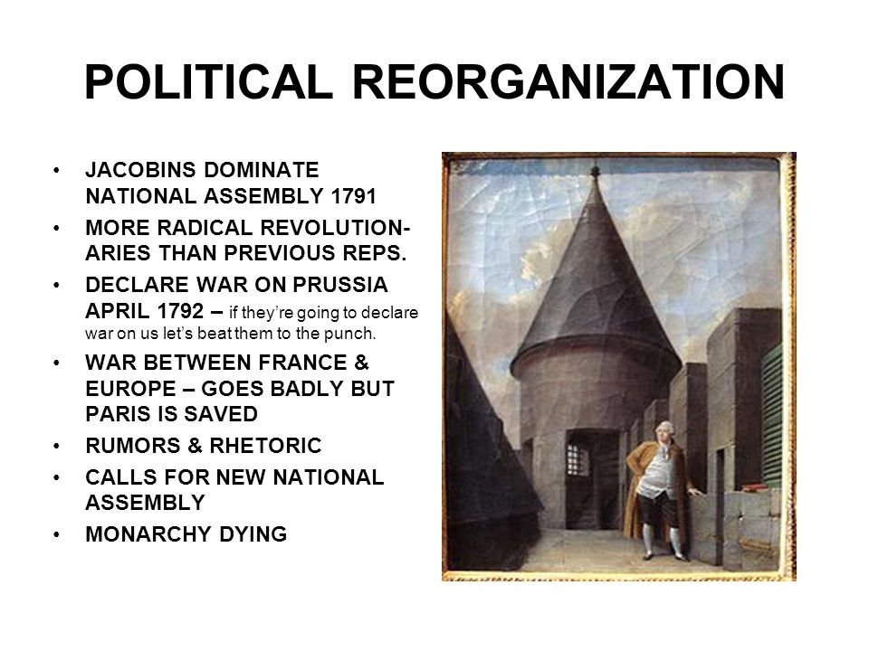 POLITICAL REORGANIZATION