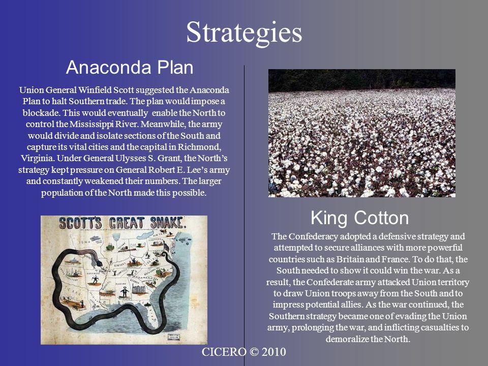 Strategies Anaconda Plan King Cotton CICERO © 2010