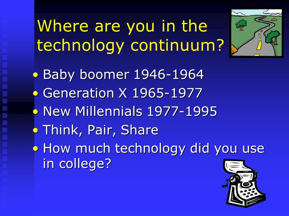 Where are you in the technology continuum