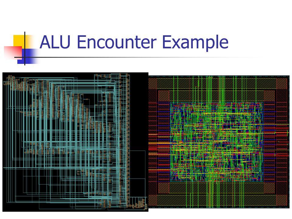 ALU Encounter Example