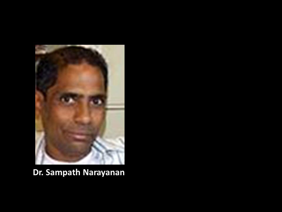 Dr. Sampath Narayanan