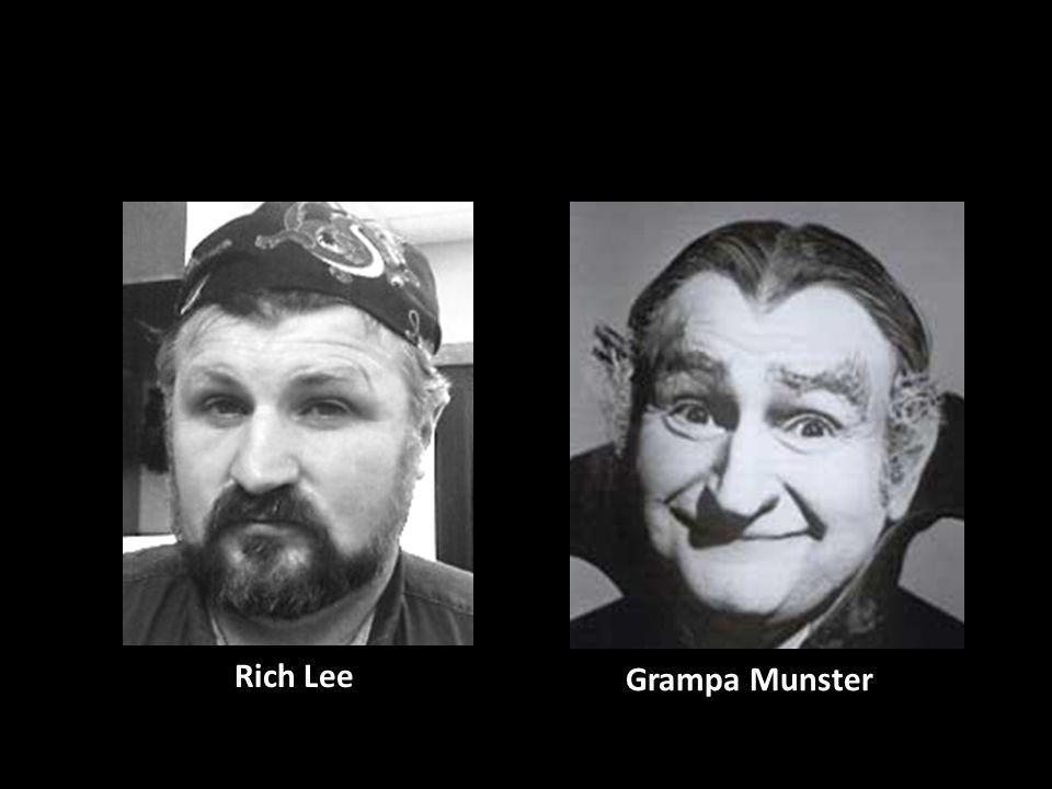 Rich Lee Grampa Munster