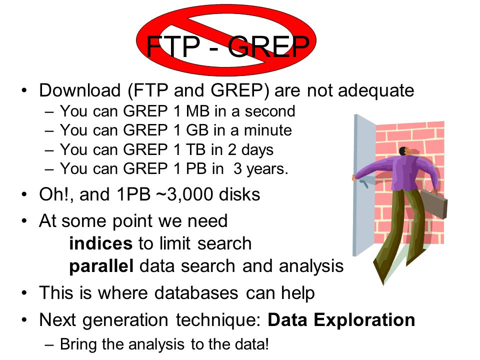FTP - GREP Download (FTP and GREP) are not adequate