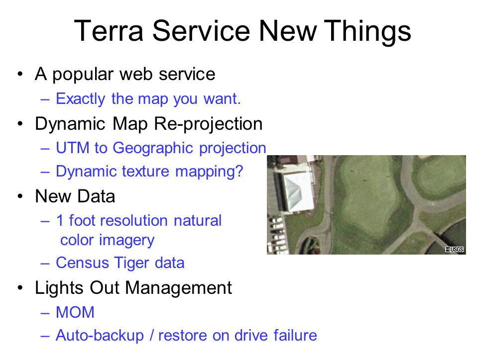 Terra Service New Things