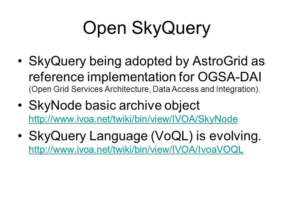 Open SkyQuery