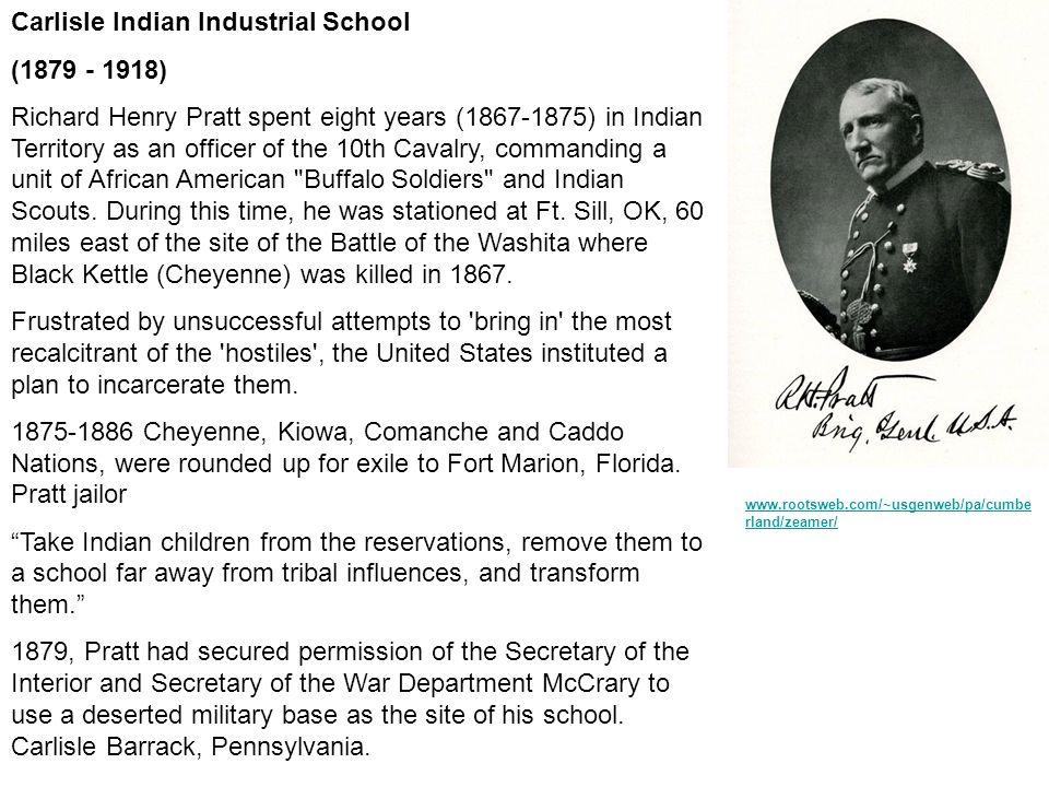 Carlisle Indian Industrial School (1879 - 1918)