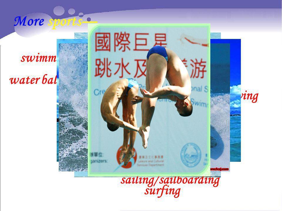 sailing/sailboarding