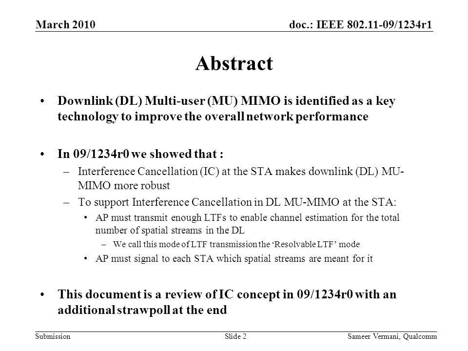 doc.: IEEE 802.11-09/1234r0doc.: IEEE 802.11-yy/xxxxr0