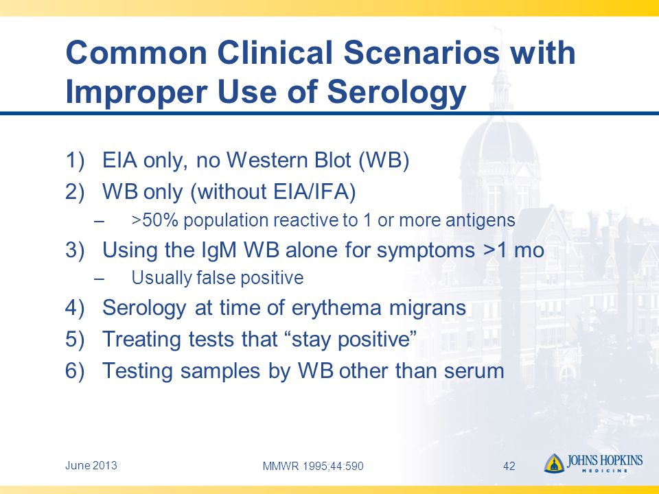 Common Clinical Scenarios with Improper Use of Serology