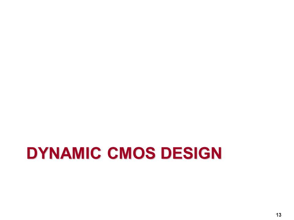 Dynamic CMOS DESIGN