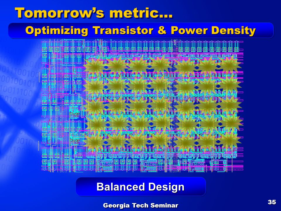Optimizing Transistor & Power Density