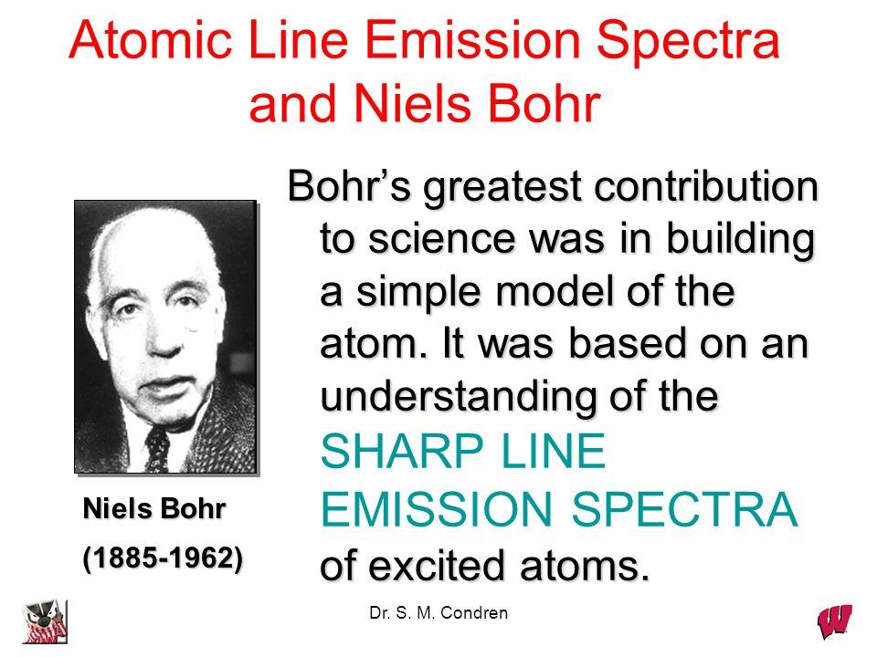 Atomic Line Emission Spectra