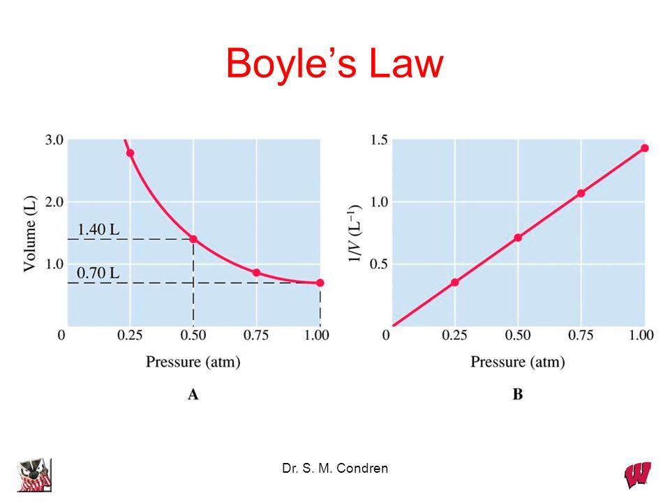 Boyle's Law Dr. S. M. Condren