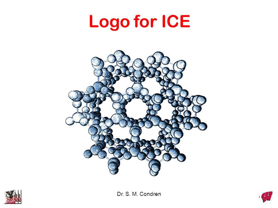 Logo for ICE Dr. S. M. Condren