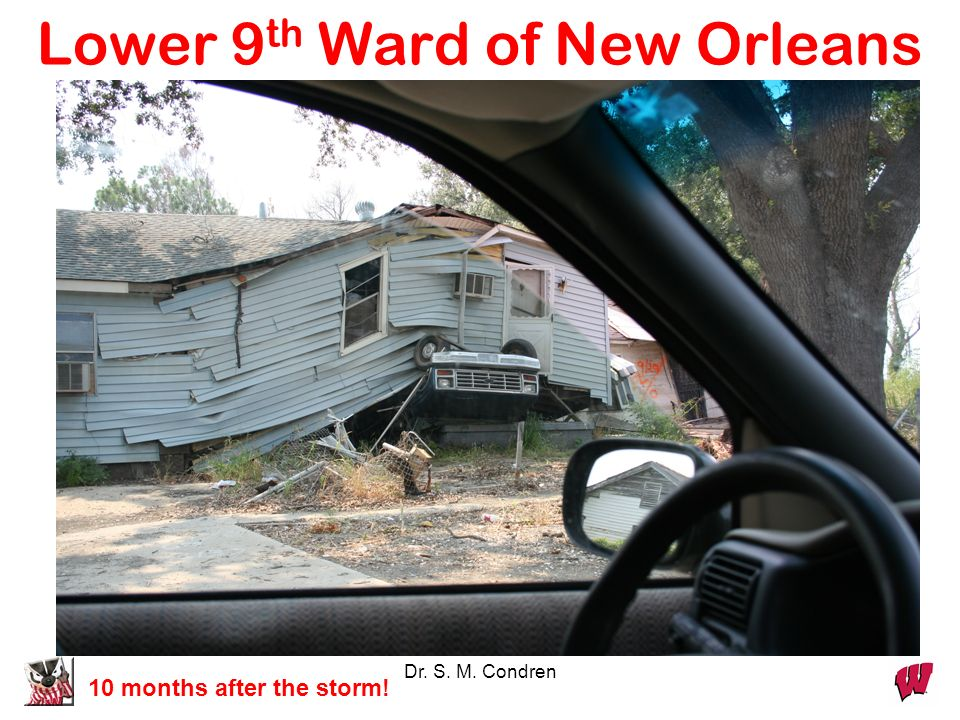Lower 9th Ward of New Orleans