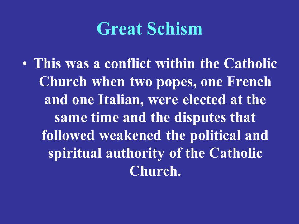Great Schism