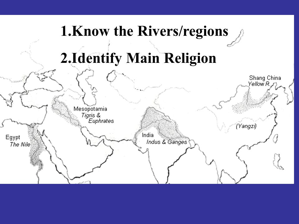 Know the Rivers/regions