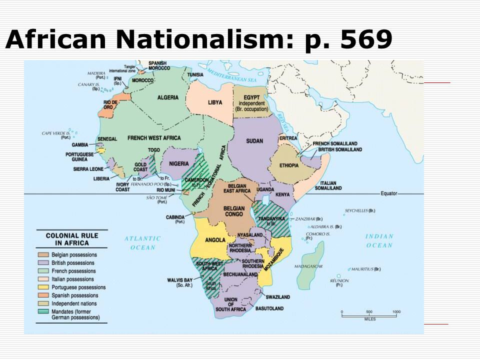 African Nationalism: p. 569