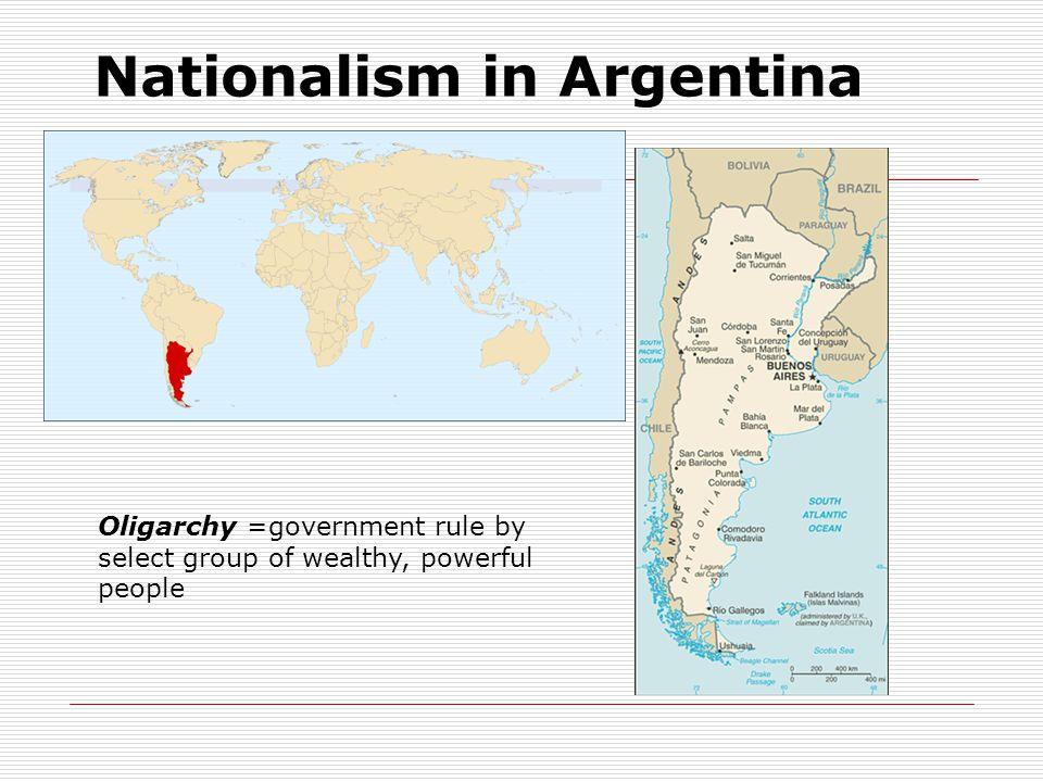 Nationalism in Argentina