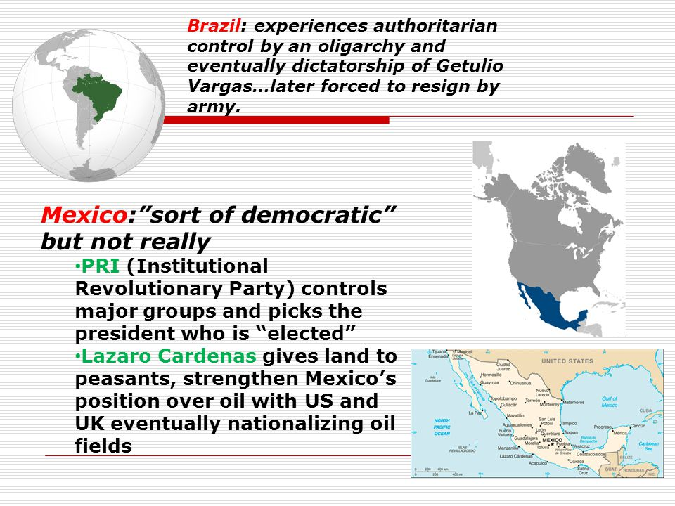 Mexico: sort of democratic but not really