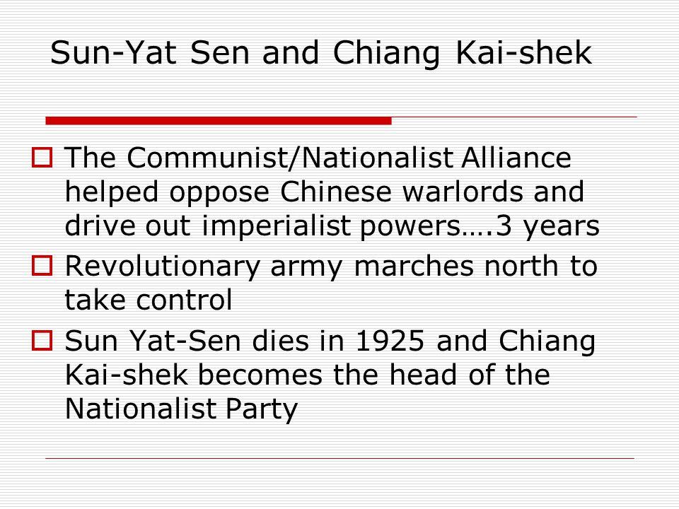 Sun-Yat Sen and Chiang Kai-shek