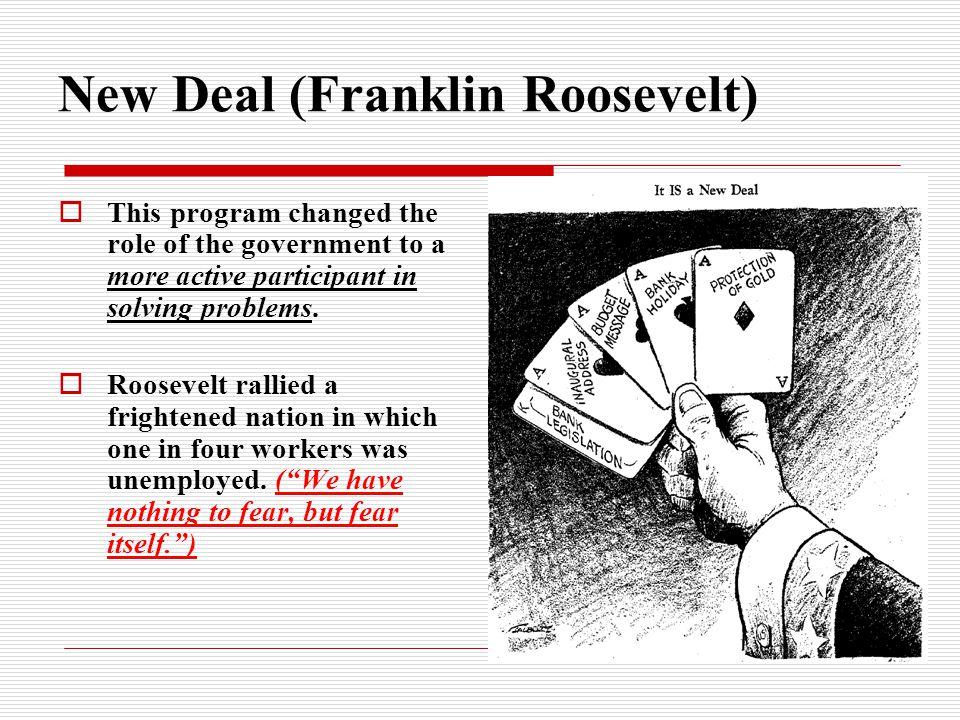 New Deal (Franklin Roosevelt)