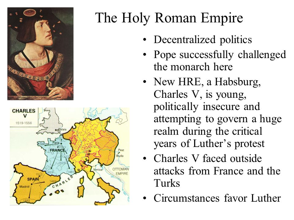 The Holy Roman Empire Decentralized politics