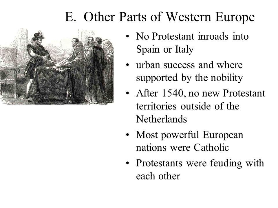E. Other Parts of Western Europe